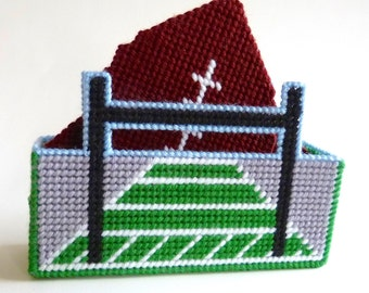 Plastic Canvas Football Coasters Plastic Canvas Coaster Football Coasters Sports Coasters Father's Day Gift Mens Gift Novelty Drink Coasters