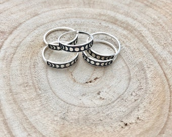 Moon phases ring / Moon ring / Sterling silver Moon ring