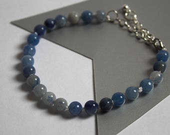 Blue Aventurine Knotted Bracelet