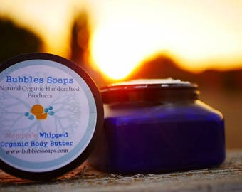 Momma's Whipped Body Butter 8oz, No Fragrance, Key Essential Oils