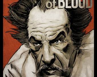 Vincent Price - Theatre of Blood movie poster full colour art print
