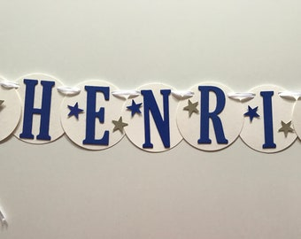 Name chain Henri, for the little Prince, crafted!