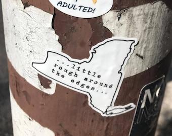 NY Rough Sticker