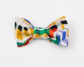 Geometric Fans: Cat Bow Tie