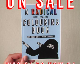 The Radical Moosleemargh Colouring Book