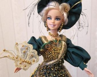 """Doll with a secret """"Lady Emeralda"""""""