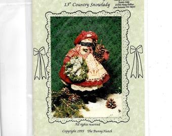 Country Snowlady Pattern 2018