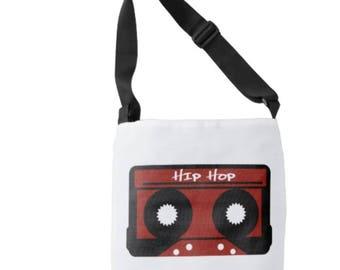 Custom Designed Hip Hop Cross Body Tote Bag