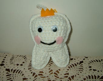 Crocheted Tooth Fairy Pillow~Last One!
