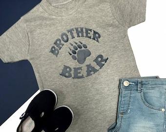 Brother Bear Shirt | Tribal Shirt | New Baby Announcement | Big Brother Announcement Shirt | Brother Bear