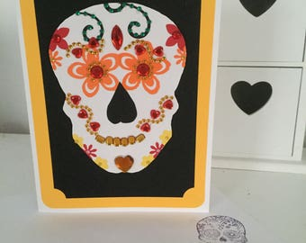 Yellow day of the dead