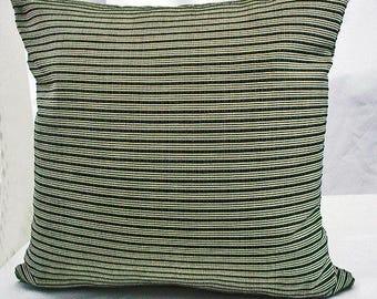 Throw pillows black, Cushion cover black, Black stripe pillow, Black striped decorative pillows, Black stripe pillow covers,