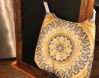 Handmade bucket bag
