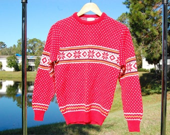 Cozy Vintage Christmas Sweater