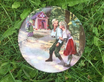 Vintage Charles Gehm Hansel + Gretel Collectible Plate