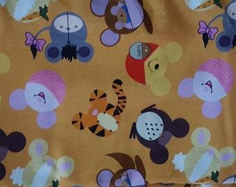 Winnie the Pooh Heads infinity scarf