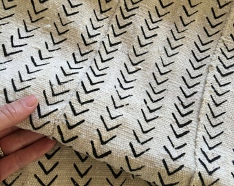 Mud Cloth, MINI Arrow/Chevron,Hand Made