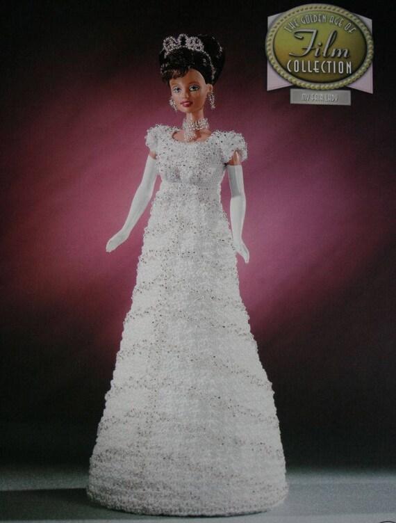 Eliza Dolittle Dress Crochet Pattern My Fair Lady Golden Age of Film ...