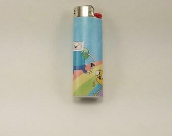 Custom Adventure Time Finn and Jake the Dog Lighter