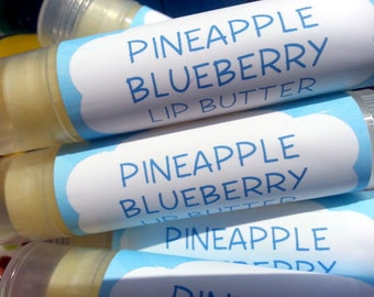 Pineapple Blueberry Lip Butter ~ Lip Balm ~ Lip Moisturizer