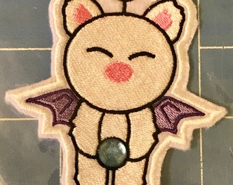 Moogle with Jewel from Final Fantasy - Sew On Cosplay Patch