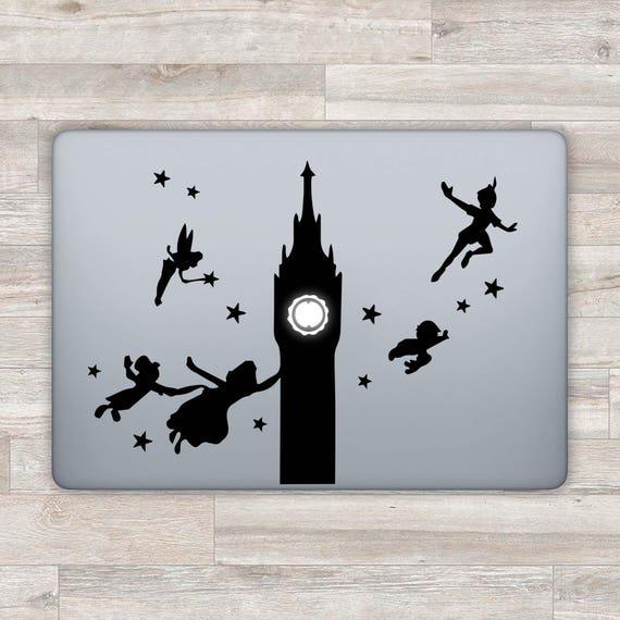 MacBook Decal Disney MacBook Sticker Peter Pan MacBook Pro