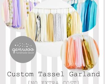 Custom 10 ft Tassel Garland (2), for Taylor, Need before Jun 28, Express Shipping
