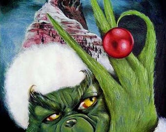 The Christmas Grinch.