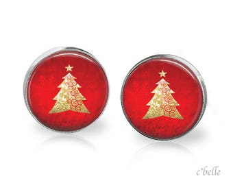 Christmas Earrings Winter-4