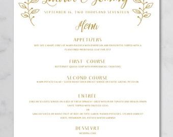 watercolor wedding menu poster buffet menu poster custom rh etsy com wedding buffet menu and pricing wedding buffet menu ideas