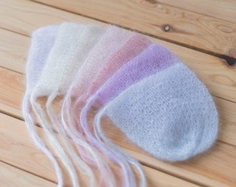 Newborn Hat, 17 Colours, Photo Props, Photography Props, Newborn Bonnet, Newborn Props, Girl Hat, Boy Hat, Newborn Knitted Hat