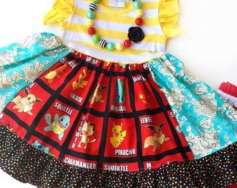 Pokemon GO dress Momi boutique custom dress