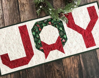 Joy Table Runner Quilt Pattern