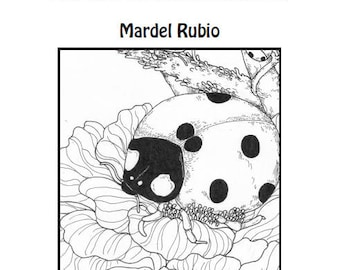 Animalandia Animal sketches collection by Mardel Rubio - printable PDF