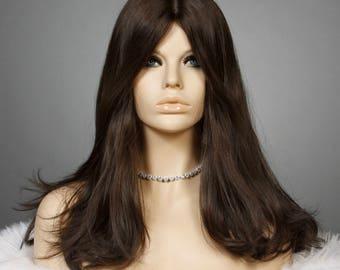 100% European Human Hair Jewish Sheitel Wig 20in