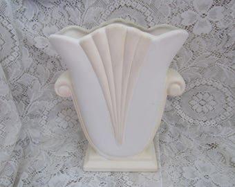 Vintage Hager Art Deco Vase, Large