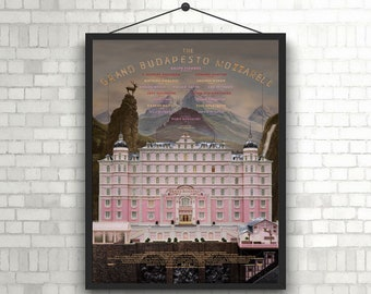 The Grand Budapest Hotel cover poster