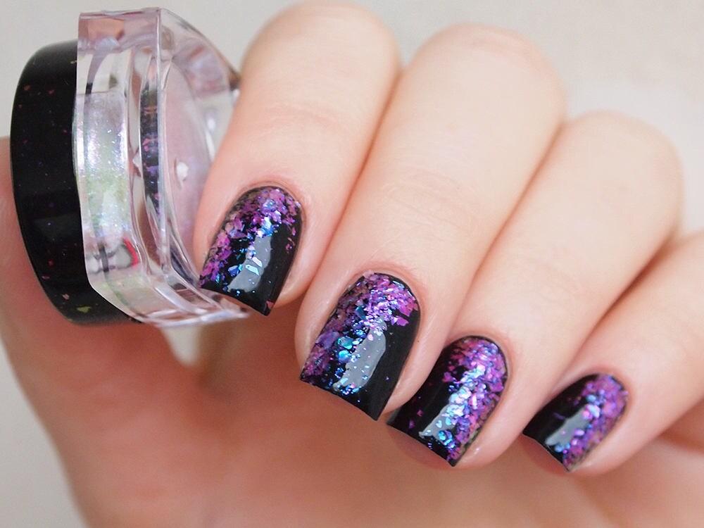 Iridescent galaxy flakes/ Nail art flakes/ Nail flakies/ Iridescent ...