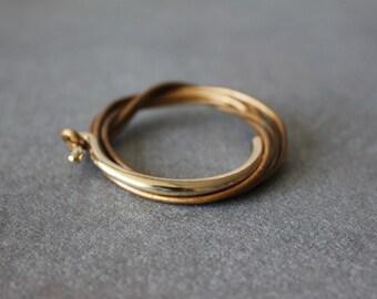 Leather Wrap Bracelet 18K Gold Plated Brass Hook(Pearl Bough)