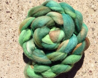 Hand-dyed Roving - Merino Top