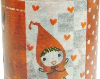 210888 Little Red Riding Hood pattern Washi Masking Tape deco tape Shinzi Katoh