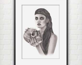 Death Rattle Fine Art Print
