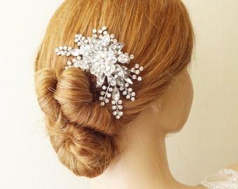 Bridal Hair Comb, Wedding Hair Accessories, Vintage Wedding Hair Comb, French Twist Bridal Comb, Hair Accessories, STARGAZER III