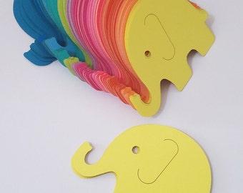 Elephant Scrap Booking Die Cut Outs ( Embellishments, Party Decoration, Decoupage)