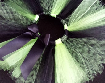 Lime and Black Tutu sizes 0-5T