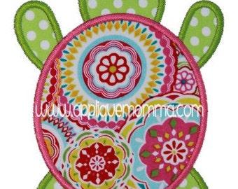 Turtle 2 Applique Design