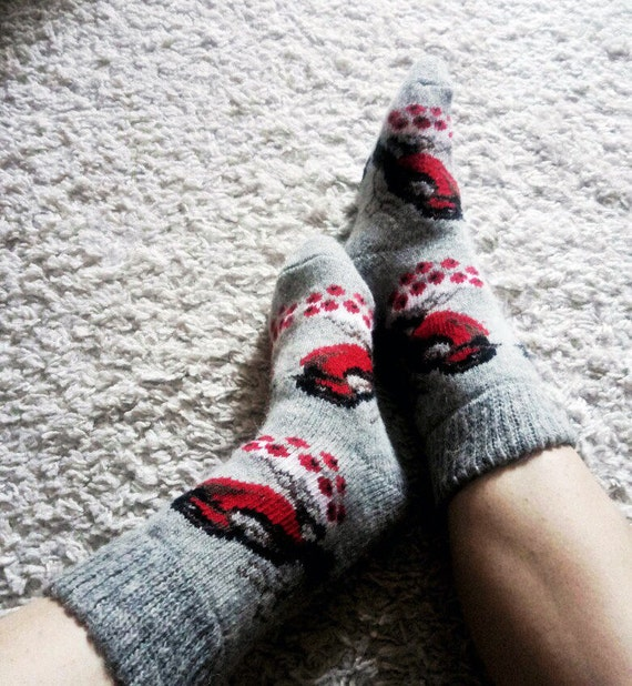 READY to SHIP cute socks wine socks woman scandinavian wool socks norway socks scandinavian norway christmas hand knit wool socks christmas 1KzAP