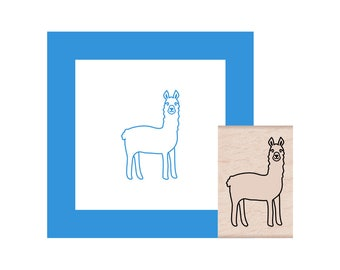 NEW for 2018 Llama Rubber Stamp