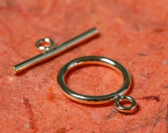 14k Gold Filled Toggle Clasp 11mm