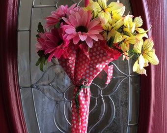 Whimsical Spring Summer Umbrella Door Decoration...Free Shipping!